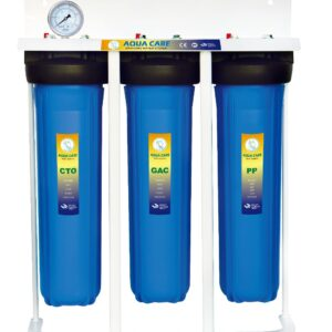 three stage jumbo water filter